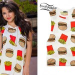 Becky G: Burger & Fries Tank Top