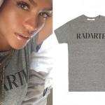 Cassie: Gray 'Radarte' T-Shirt