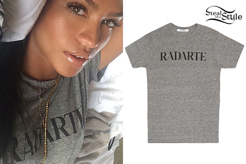 Cassie: Gray 'Radarte' T-Shirt