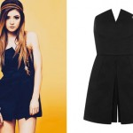 Chrissy Costanza: Black Wrap Romper