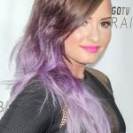 demi-lovato-hair-brown-purple