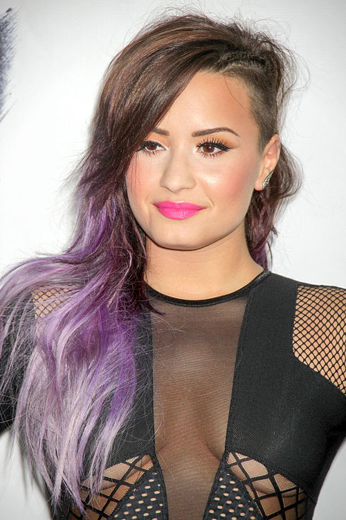 Celebrity Dip Dyed Hairstyles Steal Her Style