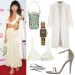 Foxes: Ivory Coat, Sparkle Sandals