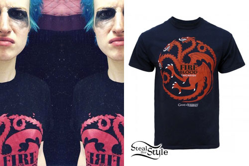 Hayley Williams: Game Of Thrones T-Shirt