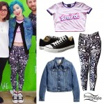 Hayley Williams: 'Weird' Crop Top Outfit