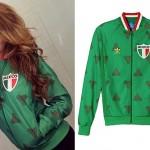Jasmine Villegas: Green Mexico Jacket