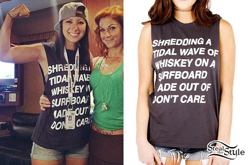 Jess Bowen: Shredding A Tidal Wave Tee