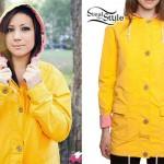 Jess Bowen: Yellow Hooded Raincoat