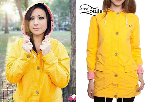 Jess Bowen: Yellow Hooded Raincoat