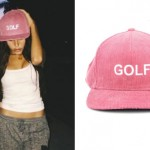 Madison Beer: 'GOLF' Pink Corduroy Hat