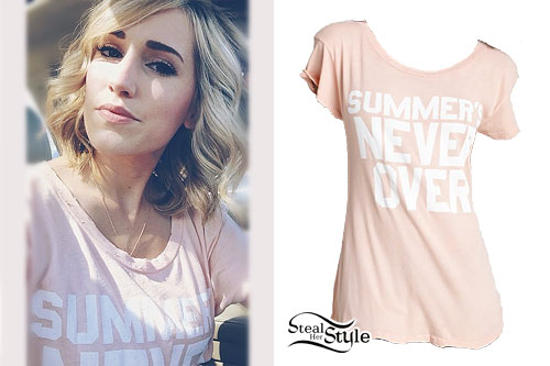 Mindy White: Summer's Never Over Tee