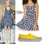 Sherri DuPree-Bemis: Daisy Dress, Yellow Sneakers