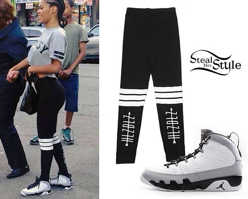 Cute Outfits With Leggings And Jordans Teyana taylor clothes & outfits ...