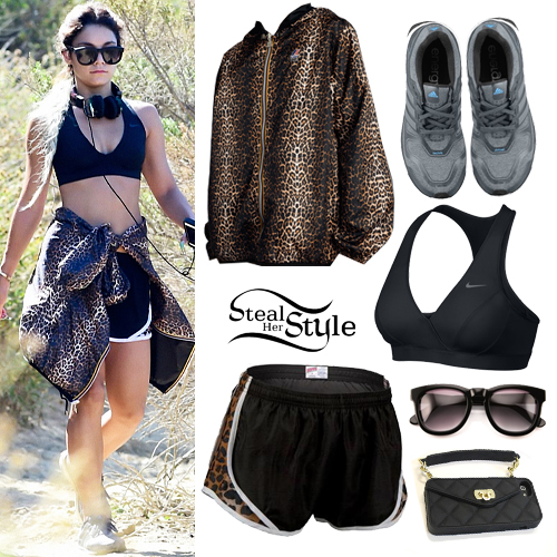 Vanessa Hudgens hiking in Runyon Canyon, Los Angeles, June 5th, 2014 - photo: vanessaphotos