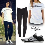 Zendaya: 'No Basics Allowed' Tee Outfit
