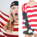 Alli Simpson: American Flag Sweater
