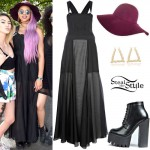 Amira McCarthy: Overall Dress Outfit