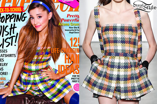 Ariana Grande for Seventeen Magazine - photo: agrande-news