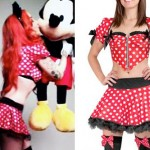 Ash Costello: Minnie Mouse Costume