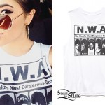 Becky G: NWA Sleeveless T-Shirt