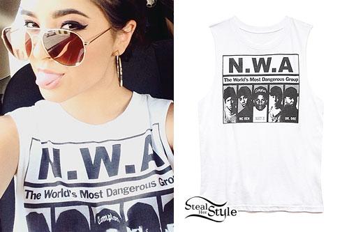 Becky G: NWA Sleeveless T-Shirt