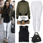 Cher Lloyd out and about in London, July 22nd, 2014 - photo: cher-lloyd.org