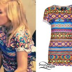 Ellie Goulding: Tribal Print T-Shirt