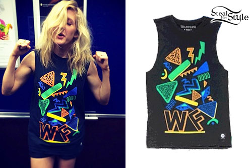 Ellie Goulding: Shapes Print Muscle Tee