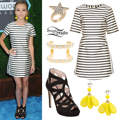 G Hannelius: Young Hollywood Awards Outfit