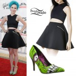 Hayley Williams: 2014 APMAs Cutout Dress