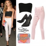 Jade Thirlwall leaving Steam & Rye, July 28th, 2014 - photo: little-mix.org