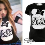 Jasmine Villegas: Minnie Mouse Hamburger Tee