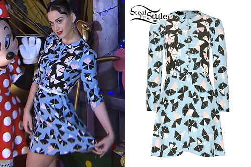 Katy Perry: Pinwheel Print Dress