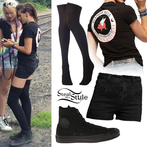 all black converse outfit - photo #14