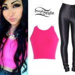 Melissa Marie Green: Hot Pink Crop Top