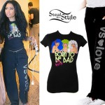 Nicki Minaj: Jem T-Shirt, VS Love Sweatpants