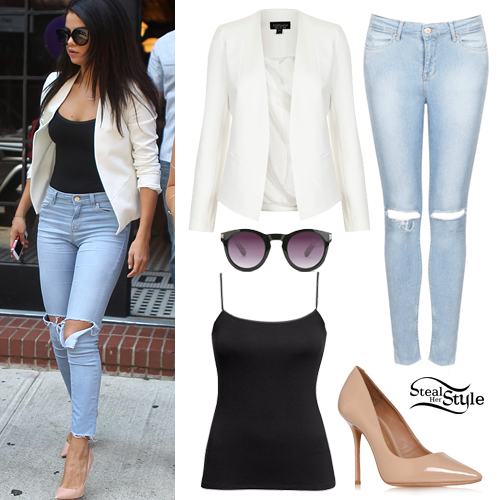 selena gomez fashion style in jeans 2014