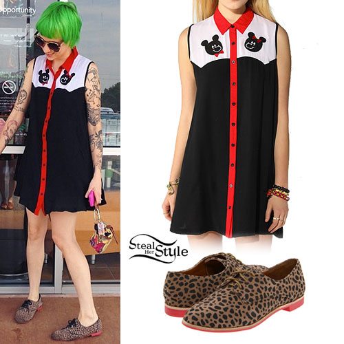 Sherri DuPree-Bemis: Bear Dress, Cheetah Oxfords