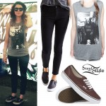 Tay Jardine: Bear Muscle Tee Outfit