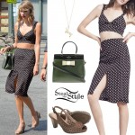 Taylor Swift: Cut Out Bralet, Slit Skirt