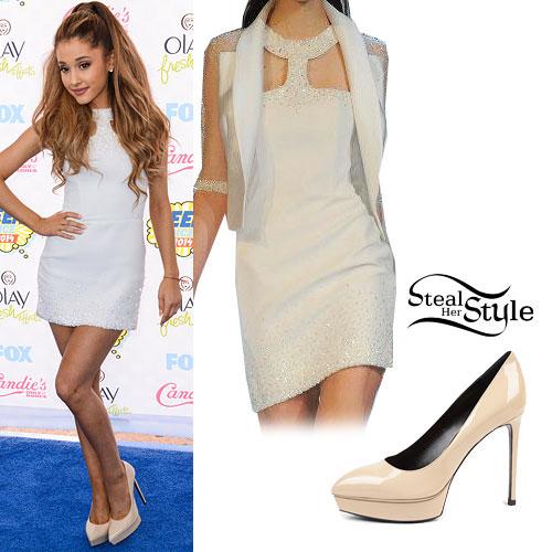 Ariana Grande: 2014 Teen Choice Awards Outfit