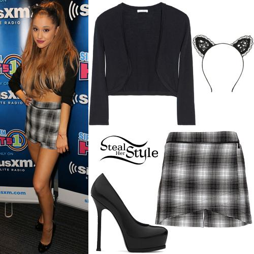 Ariana Grande at Hits #1 Sirius XM. August 25th, 2014 - photo: arianatoday