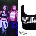 Becky G: 'Immaculate' Crop Top