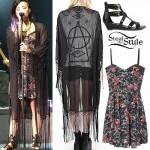 Demi Lovato Soundcheck in Reno, July 17th, 2014 - photo: demetriabr