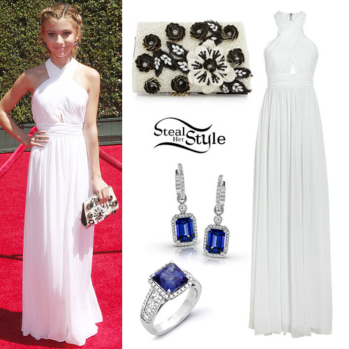 G Hannelius: 2014 Emmy Awards Outfit