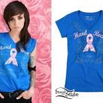 LIGHTS: Hard Rock Pinktober T-Shirt