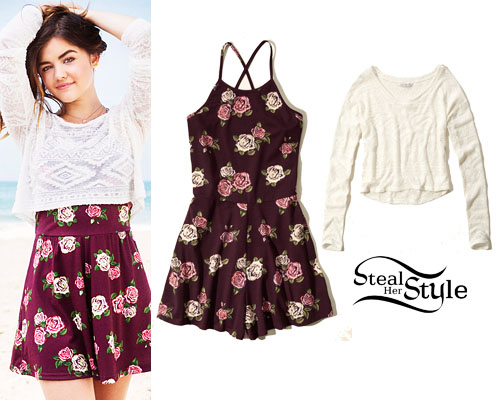2fc0c7fef9a Lucy Hale for Hollister Co. - photo  liarsdaily