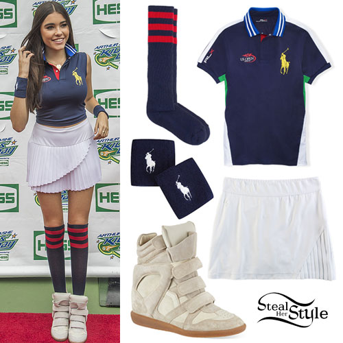 Madison Beer: US Open Tennis Outfit