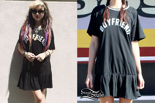 Rena Lovelis: 'Boyfriend' T-Shirt Dress