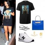 Rihanna leaving Cafeteria Restaurant in New York, August 16th, 2014 - photo: rihanna-diva